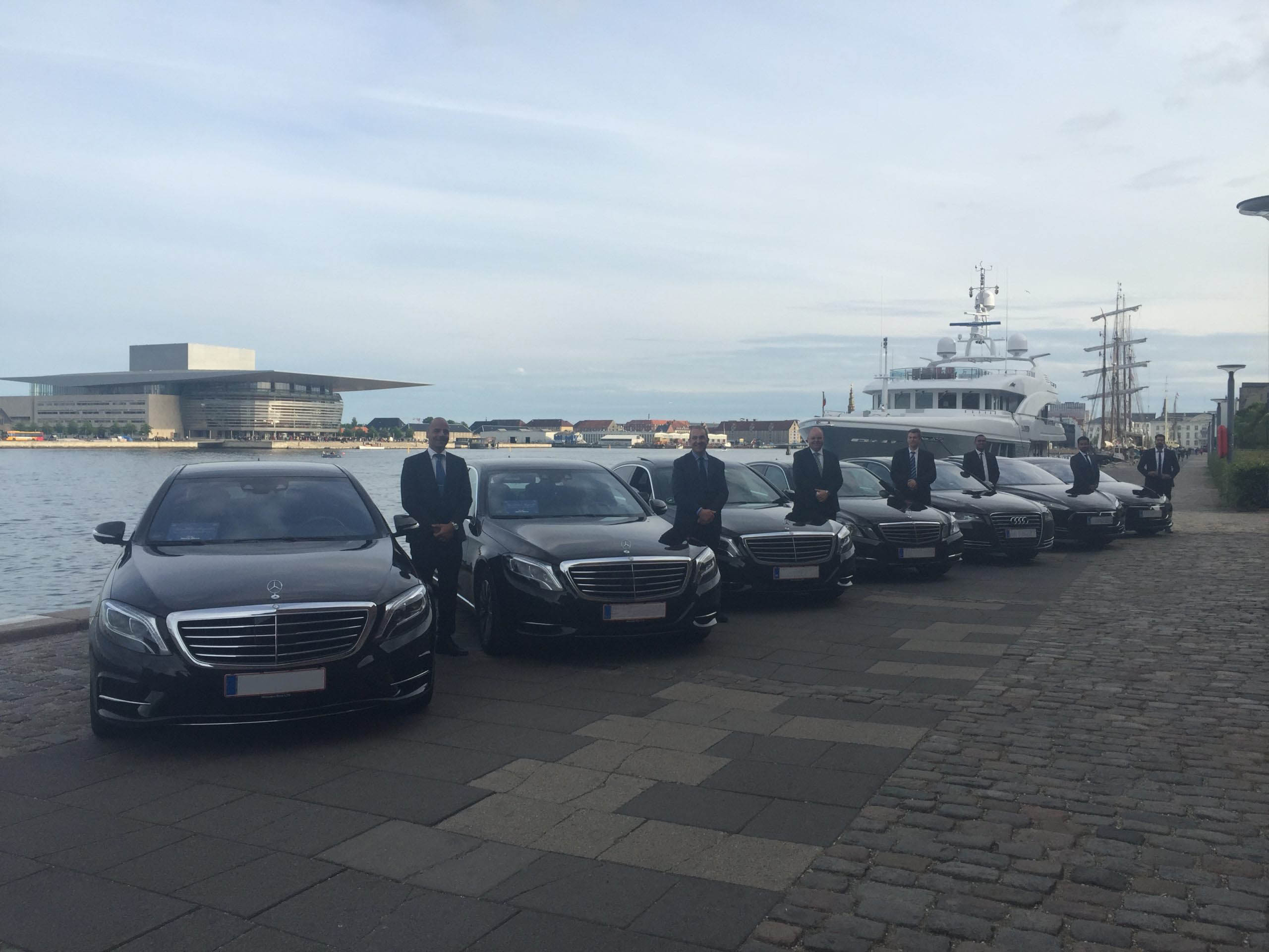 Chauffeurs with our Cars